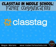 Using Classtag to Communicate with Parents Secondary Resources, Writing Resources, Writing Skills, English Language, Language Arts, 6th Grade Reading, Vocabulary Practice, Parent Communication