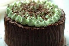 Chocolate Mint Layer Cake