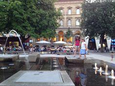 Summertime in Europe, Karlsruhe, Germany