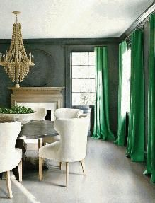 """It's out with """"tangerine tango"""" and in with """"emerald!"""" Liv Showroom shows us how to incorporate the color into our homes and wardrobes."""