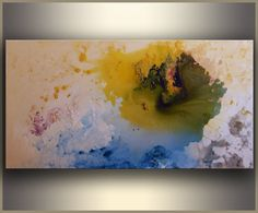 Abstract Painting Original Art Large Abstract by studiomosaic