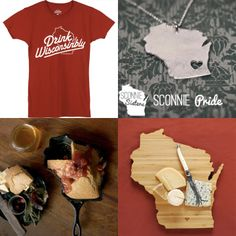 Round-up of some of the best Wisconsin products out there.  #sconnie #wisconsin