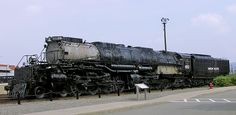"""Union Pacific 4-8-8-4 """"Big Boy"""" Locomotives were arguably some of the most amazing steam locomotives ever built.  This one is UP 4012."""