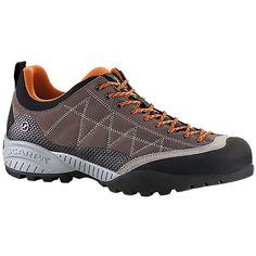 Scarpa Men s Zen Pro Shoe - 45.5 - Charcoal   Tonic Hiking Boots ee04beb4c19