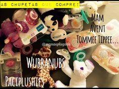 Chupetas Wubbanubs e Paciplushies - Pacifier