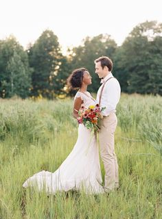 wildflower bouquet | Ali Harper #wedding