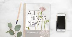 Did you hear? We just announced our next online Bible study—All Things New by Kelly Minter! To celebrate, we're giving away 15 prize packs that include the All Things New Bible study book and Kelly Minter's Hymns and Hallelujahs CD!