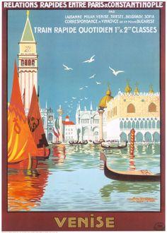 Vintage Italian Posters ~ #illustrator #Italian #posters #vintage ~ Vintage poster