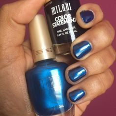 Milani Ink Spot topped with Milani Breezy