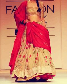 Beautiful Floral Indian Designer outfit
