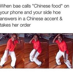 Side chick phone prank