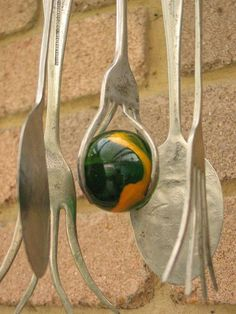 photo gallery of wind chimes | Homemade Wind Chimes | Blowing in the Wind - a gallery ... | Garden J ...