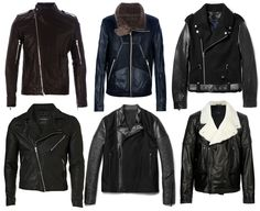 Carolines Mode   ModeMan - Great Leather jacket choices