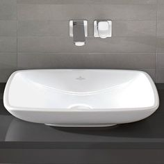 Loop countertop basin (rectangle)