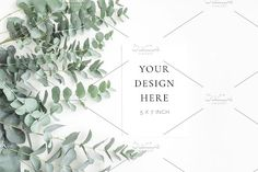 Eucalyptus Statinonary Mockup by Imperium Nordique on @creativemarket