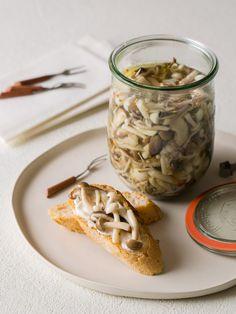 Pickled Mushrooms recipe