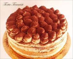 Torta Tiramisu con crema al mascarpone di Luca Montersino e uova pastorizzate