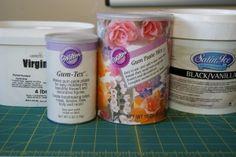 Making gum paste