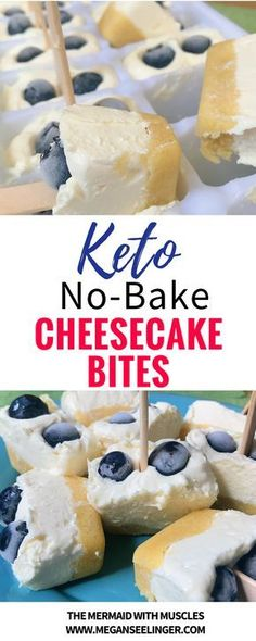 The best summer low carb treat, Easy No-Bake Keto Cheesecake Bites! These no-bake cheesecake bites are sweetened with monk fruit sweetener and the low carb pie crust is made with almond flour for a…More 8 Mouth Watering Keto Diet Friendly Snack Recipes Dessert Simple, Keto Dessert Easy, Dessert Recipes, Dessert Ideas, Breakfast Recipes, Dinner Recipes, Diet Breakfast, Snack Recipes, Keto Friendly Desserts