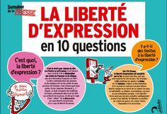 J'aime la langue française: La liberté d'expression
