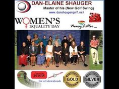 Dan Shauger Master of his (New Golf Swing) Women's Day/16 Different Fore...