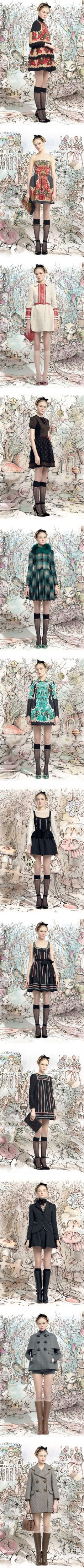 """""""Red Valentino RTW Fall 2013 Collection"""" by teleporter on Polyvore"""