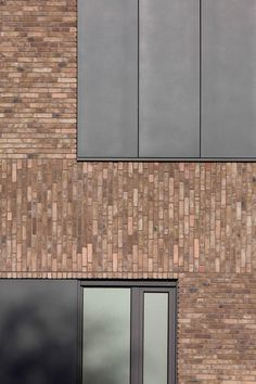 All Time Modern House Designs – My Life Spot Brick Cladding, Brick Facade, Brick Flooring, Brickwork, Brick And Wood, Concrete Wood, Brick And Stone, Brick Wall, Brick Detail