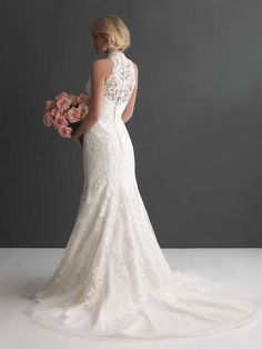 Allure Bridals : Romance Collection : Style 2653 : Available colours : White, Ivory (back)