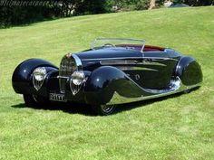 Bugatti Tipo 57C Van Vooren Cabriolet #cars #vintage #prewar #1939