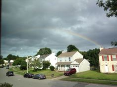 [9.4.16] A beautiful rainbow after the crazy Virginia storms over the weekend.