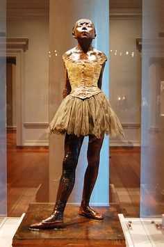 Degas, the one that started it all. This statue made me fall in love with the beauty and effortlessness that is art. Sweet and innocent beauty.