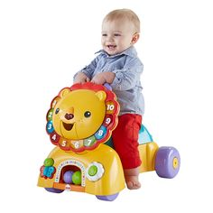 Fisher-Price® 3-in-1 Sit, Stride & Ride Lion   DHW02   Fisher Price