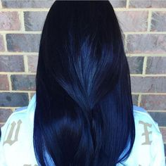 20 Awesome Blue Black Hair Looks To Raise Charm - Megan Griggs - Pastel Purple Hair, Blue Ombre Hair, Hair Color Purple, Hair Dye Colors, Hair Color For Black Hair, Cool Hair Color, Black To Blue Ombre, Color Black, Colour