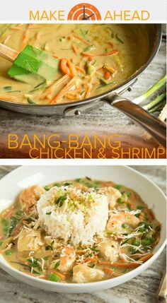 Make this take on Cheesecake Factory's Bang-Bang Chicken and Shrimp in only 30 minutes!