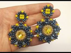 (701) Orecchini Lemonade (DIY - Lemonade Earrings) | Video (earring) | Pinterest