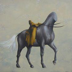 """Via St. Infini"" Oil on canvas 100x100cm. Avihai cohen Art אביחי כהן"