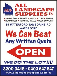 All Landscape Supplies , Waterford, QLD 4133 - Building Supplies - TrueLocal Mobile