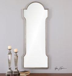 Jovita Metal Framed Mirror