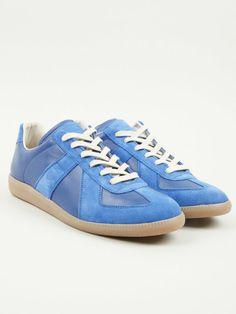 Maison Martin Margiela 22 Men's Blue Replica Sneakers | oki-ni