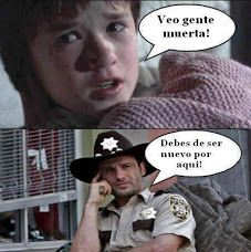 ohohoh spanish time!! the walking dead