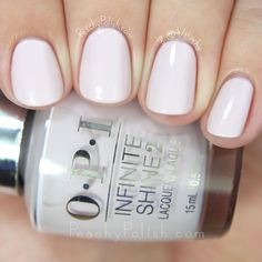 OPI Patience Pays Off | Spring 2015 Infinite Shine Collection | Peachy Polish