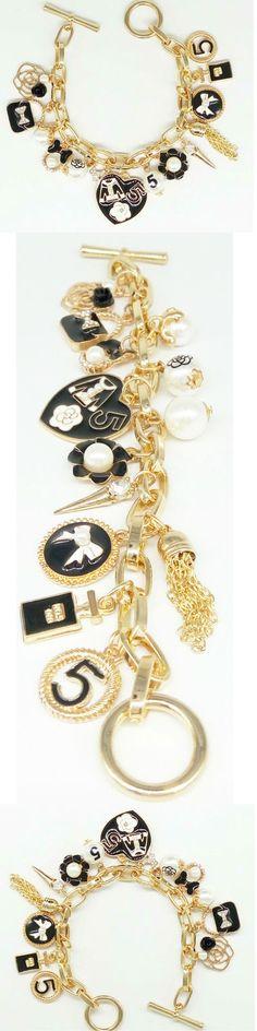 Bracelee charm Heart, charm spirits, pearl, gift for her,Bracelet chain…