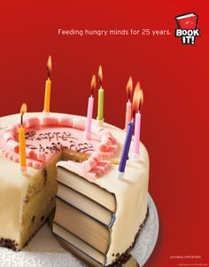 Book-It book cake