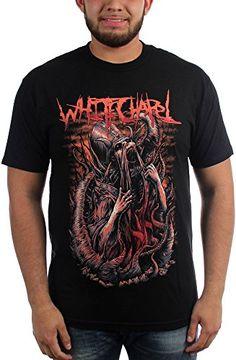 cff4801ed8 Whitechapel – Mens Evil Preacher T-Shirt  whitechapel  deathcore Color Black