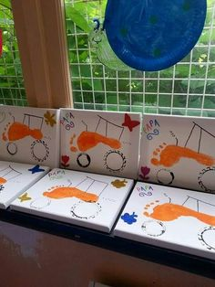 bricolage fête des pères 18 mois - Recherche Google Summer Arts And Crafts, Fun Crafts For Kids, Diy For Kids, Activities For Kids, Diy Father's Day Gifts, Father's Day Diy, Classroom Crafts, Classroom Fun, Toddler Art