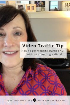 I show you my top 5 ways to get website traffic fast without spending a dime in this short video.   You'll want to watch this video if you want to learn   The Top 5 strategies we use to drive over 7.5k page views a month  What content drives the MOST traffic  Where & when to post to get a surge of traffic  How to start getting more organic traffic  AND...I've even added a surprise   bonus video on a simple way you can improve your CTR on your existing content.