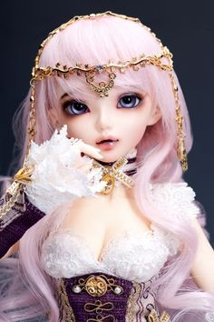 106.00$  Watch here - http://alimwr.worldwells.pw/go.php?t=32718912762 - 1/4 scale BJD lovely kid BJD/SD cute girl MiniFee Chloe Amethyst figure doll DIY Model Toys.Not included Clothes,shoes,wig 106.00$