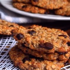 Easy Chocolate Chocolate Chip Cookies - New ideas Chocolate Cookie Recipes, Easy Cookie Recipes, Dessert Recipes, Chocolate Chocolate, Healthy Sweets, Healthy Baking, Best Peanut Butter Cookies, Sugar Cookies, Deli Food