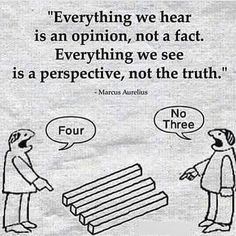 """""""Everything we hear is an opinion, not a fact. Everything we see is a perspective, not the truth."""" -- Marcus Aurelius Want more business from social media?tk Want more business from social media? Wise Quotes, Great Quotes, Words Quotes, Motivational Quotes, Funny Quotes, Inspirational Quotes, Sayings, Motivational Pictures, Faith Quotes"""