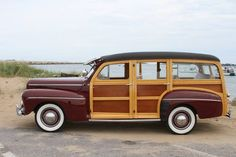 1942 Ford Super Deluxe Woody Station Wagon: 4 of 50